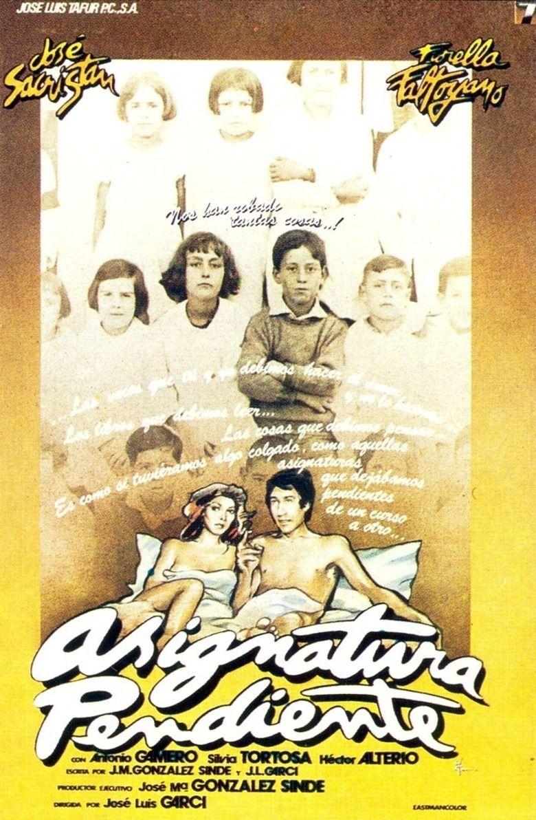 Asignatura pendiente movie poster
