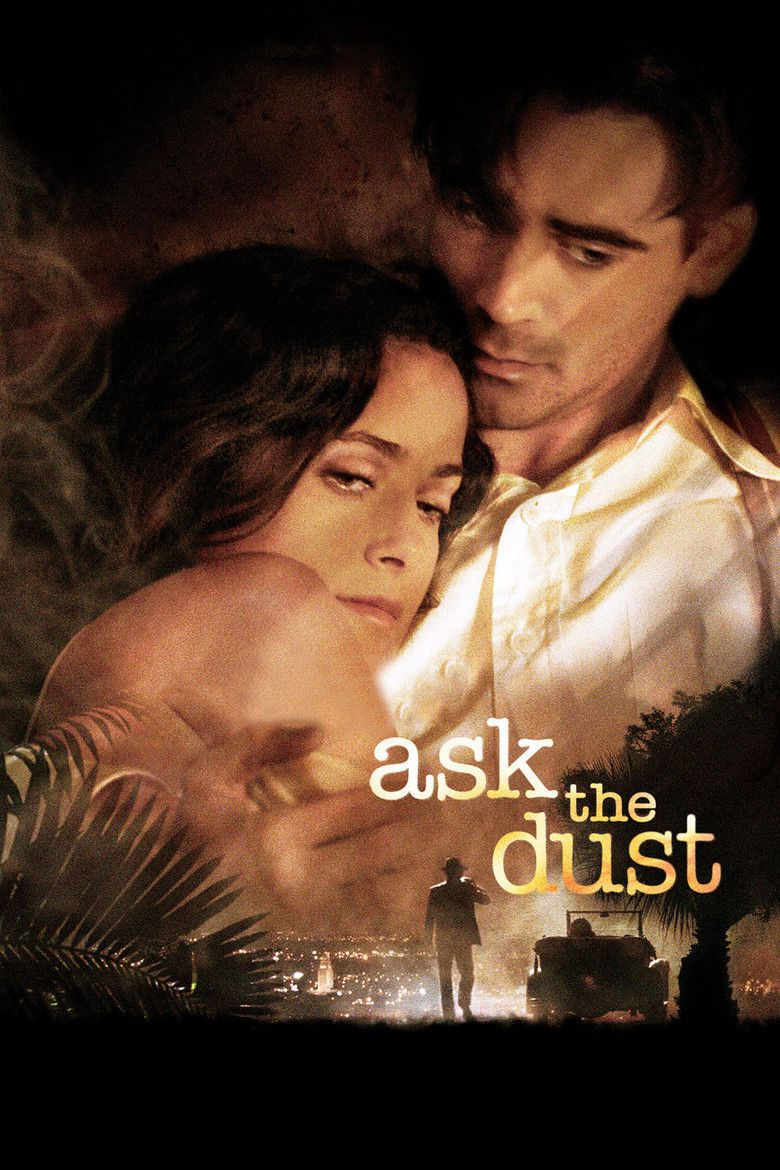 Ask the Dust (film) movie poster