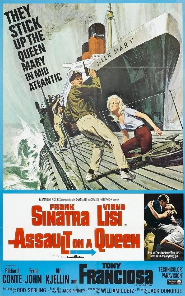Assault on a Queen movie poster