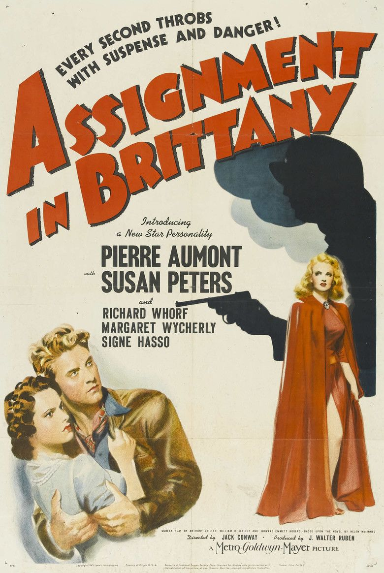 Assignment in Brittany movie poster