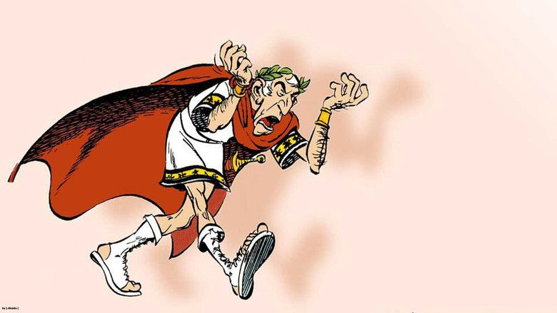 Asterix Versus Caesar movie scenes