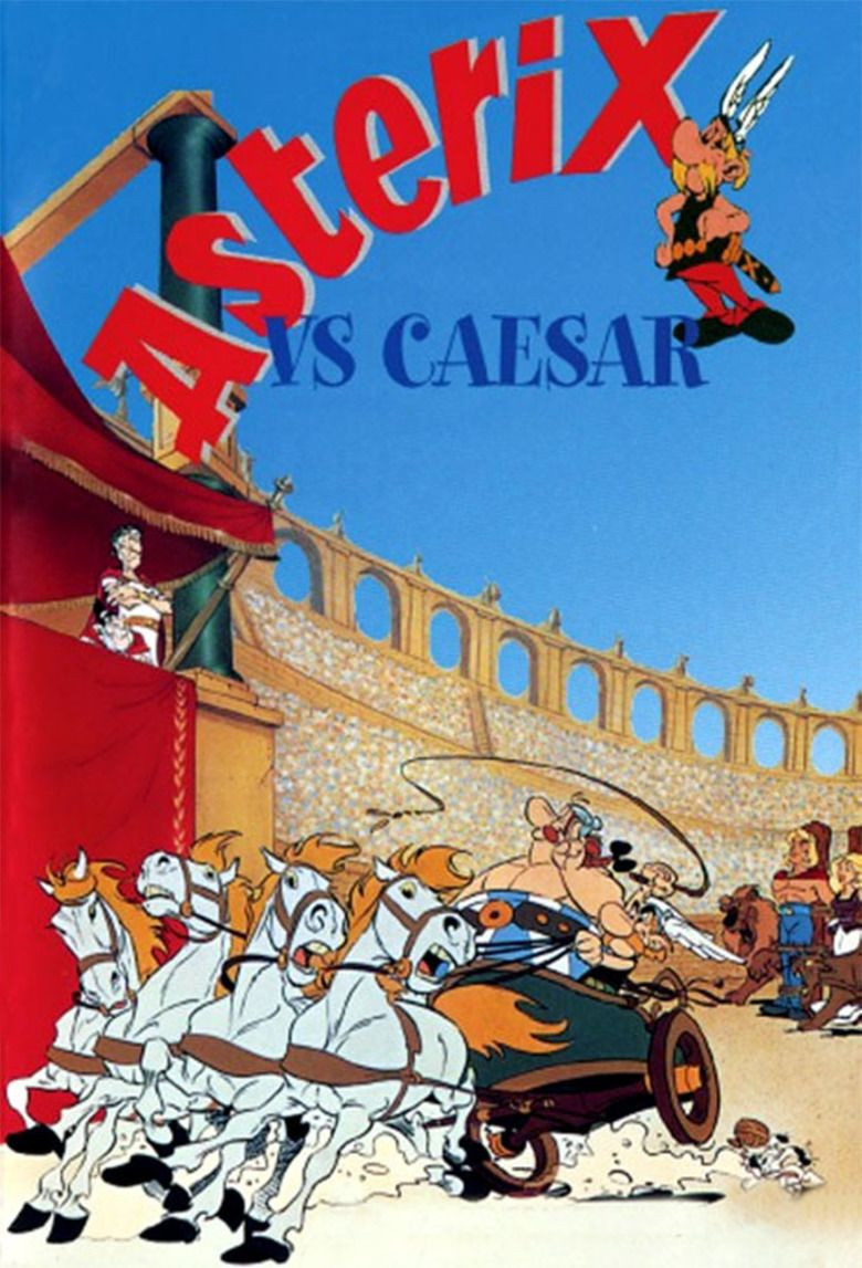 Asterix Versus Caesar movie poster