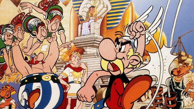 Asterix and Cleopatra (film) movie scenes