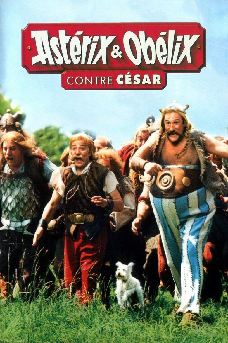 Asterix films (live action) movie poster