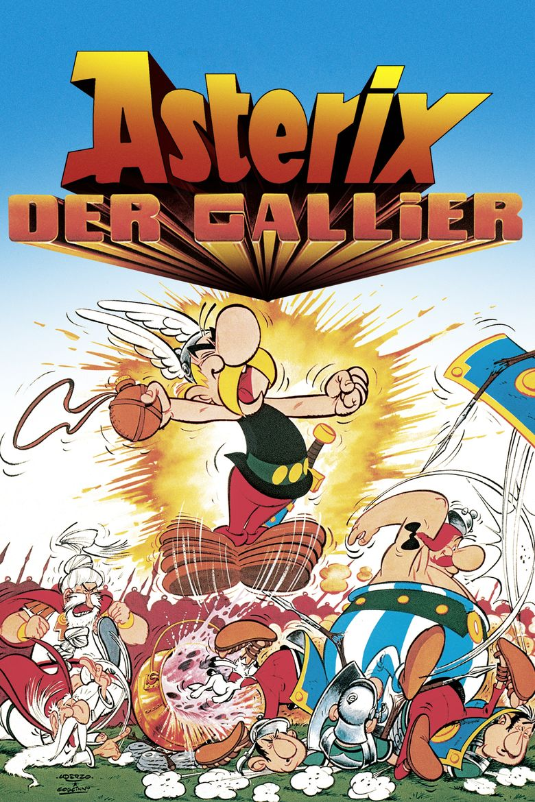 Asterix the Gaul (film) movie poster
