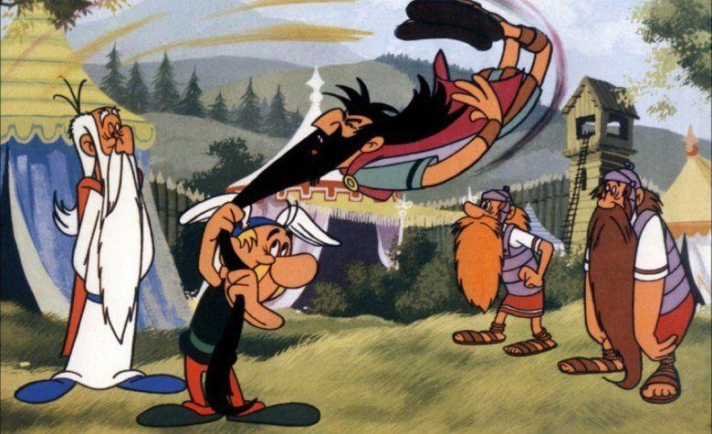 Asterix the Gaul (film) movie scenes