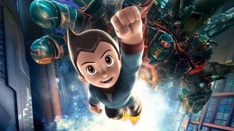 Astro Boy (film) movie scenes