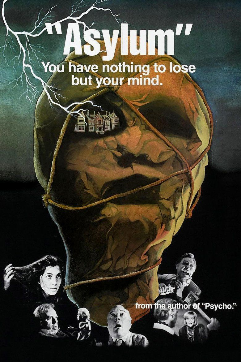 Asylum (1972 documentary film) movie poster