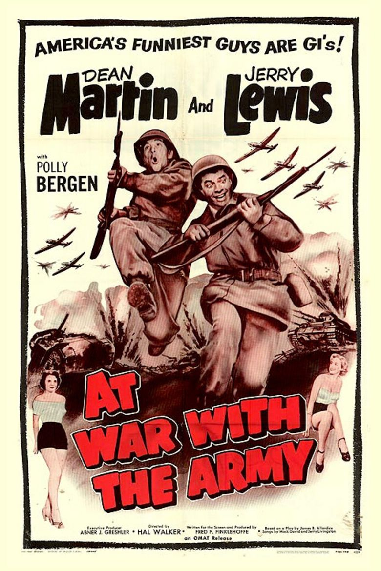 At War with the Army movie poster
