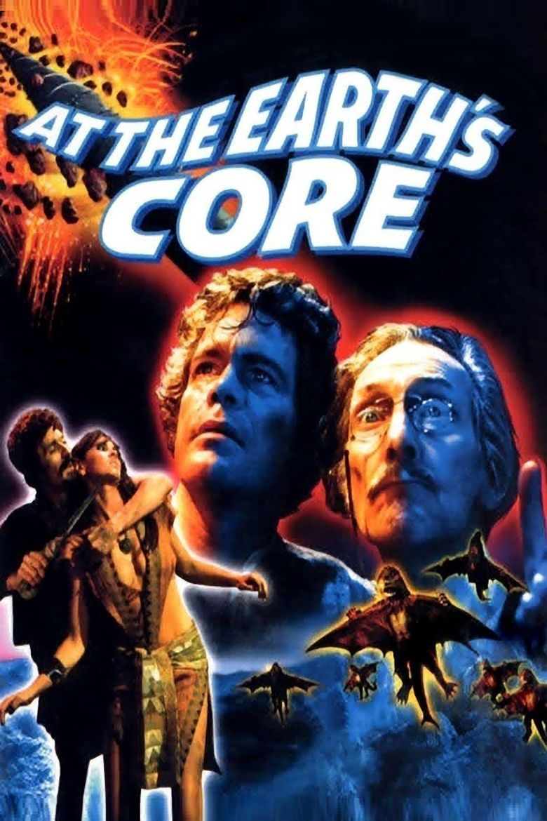 At the Earths Core (film) movie poster
