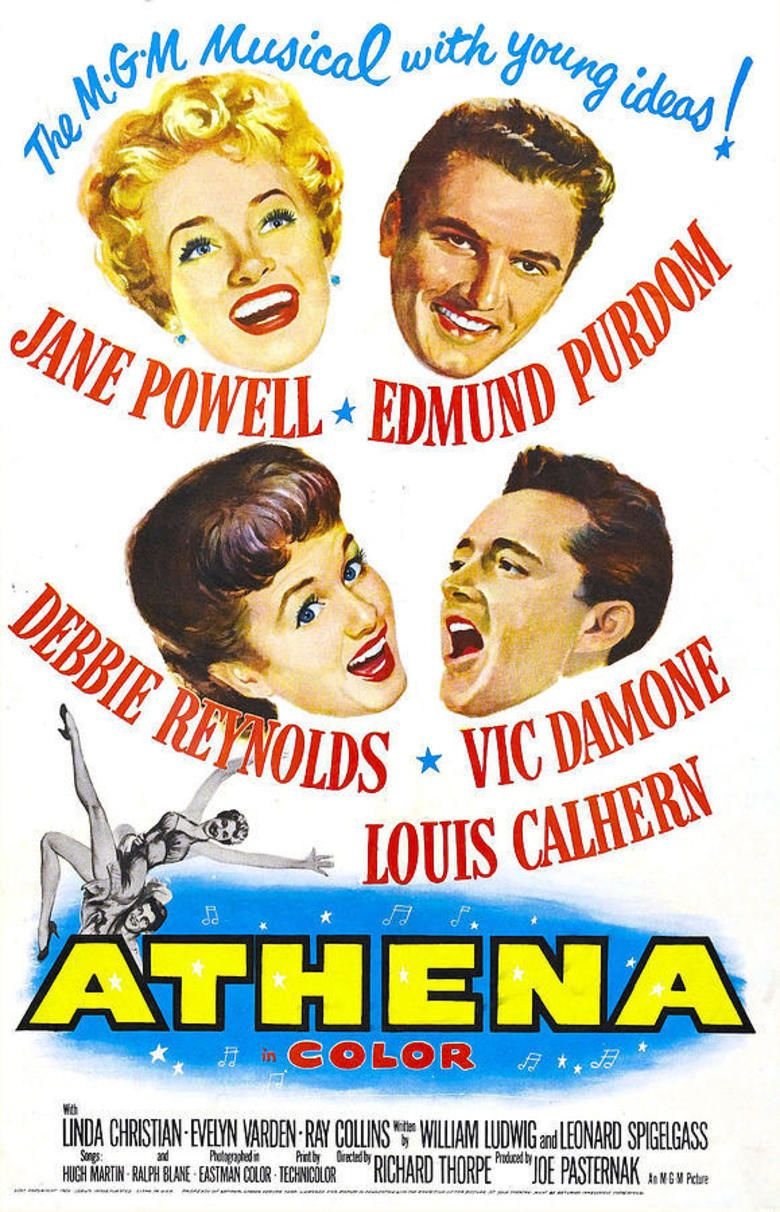 Athena (film) movie poster