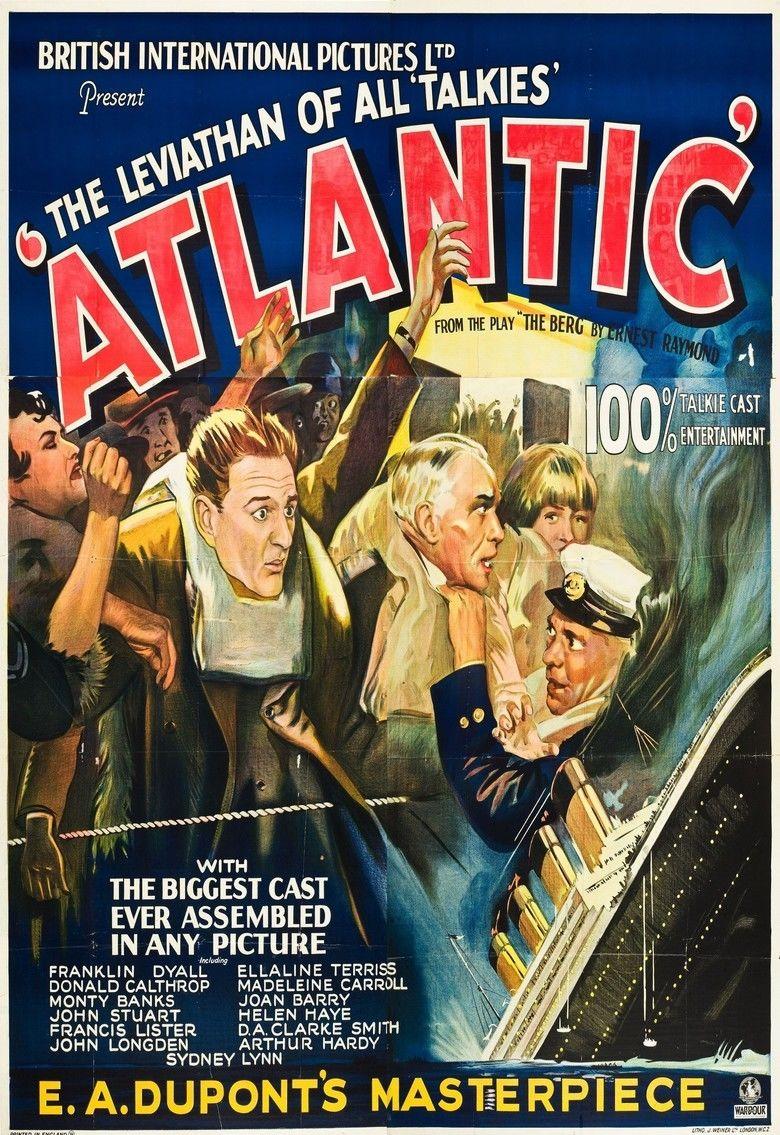 Atlantic (film) movie poster