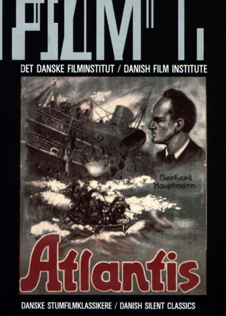 Atlantis (1913 film) movie poster
