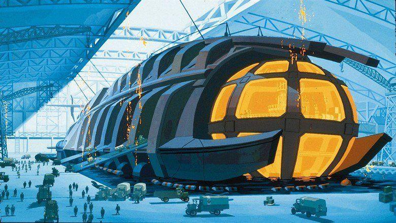 Atlantis: The Lost Empire movie scenes