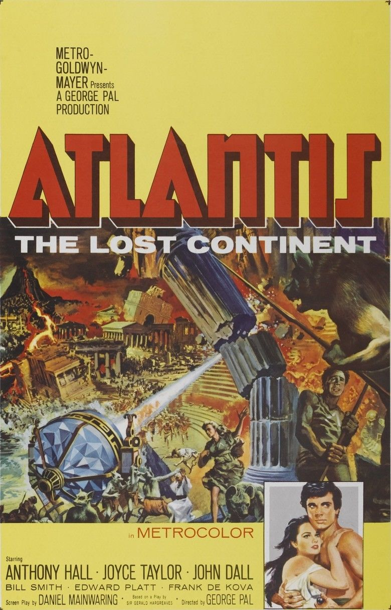 Atlantis, the Lost Continent movie poster