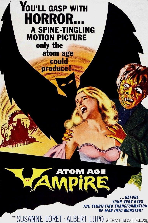 Atom Age Vampire movie poster