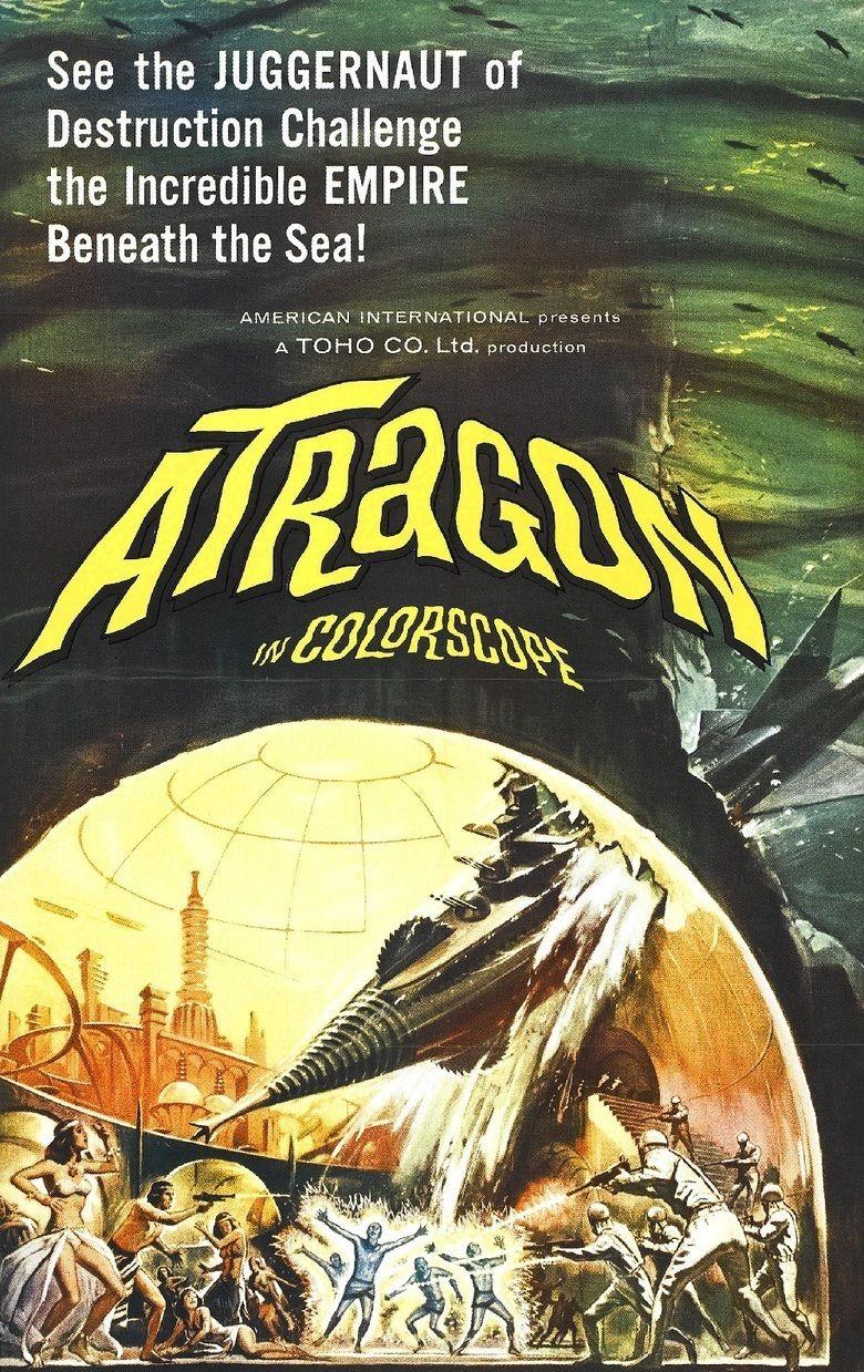 Atragon movie poster