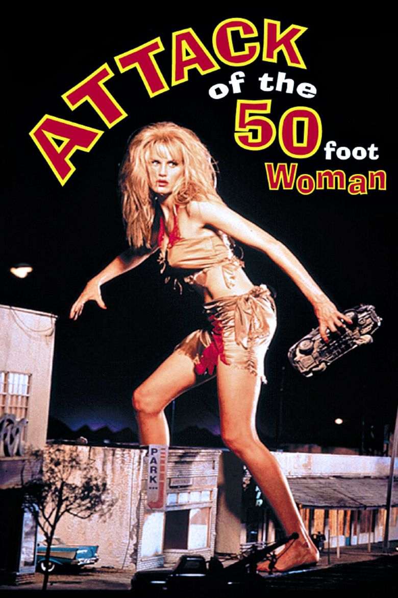 Attack of the 50 Ft Woman (1993 film) movie poster