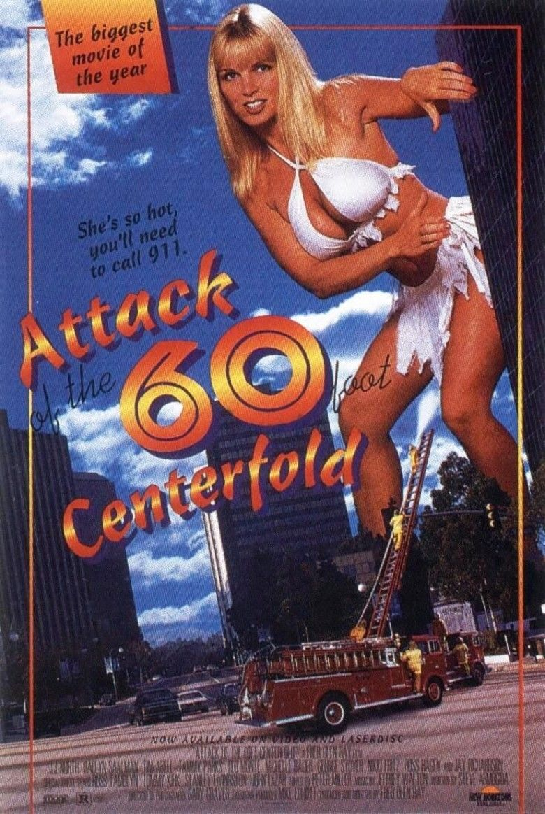 Attack of the 60 Foot Centerfold movie poster