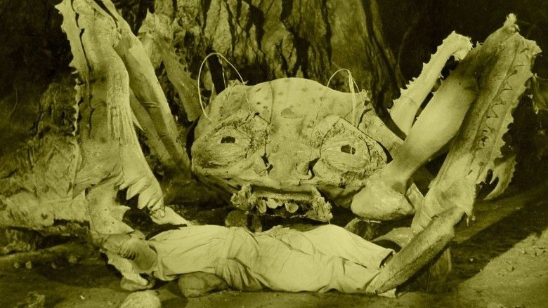 Attack of the Crab Monsters movie scenes