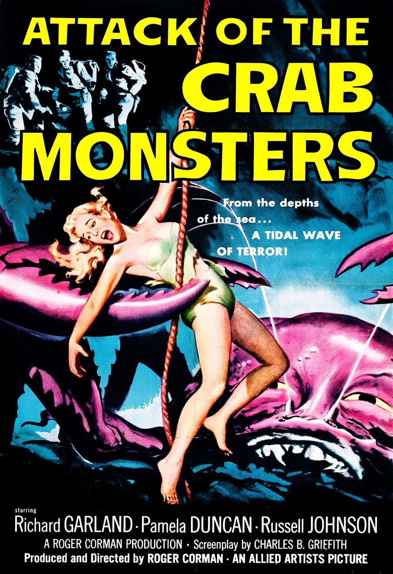 Attack of the Crab Monsters movie poster