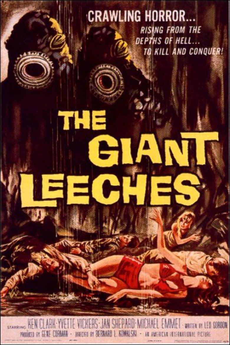 Attack of the Giant Leeches movie poster