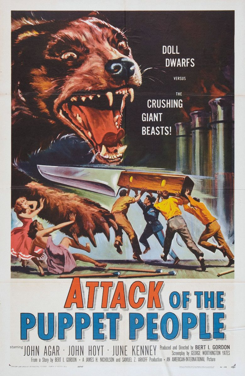 Attack of the Puppet People movie poster