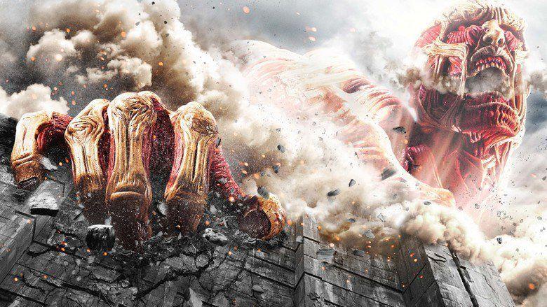Attack on Titan (film) movie scenes