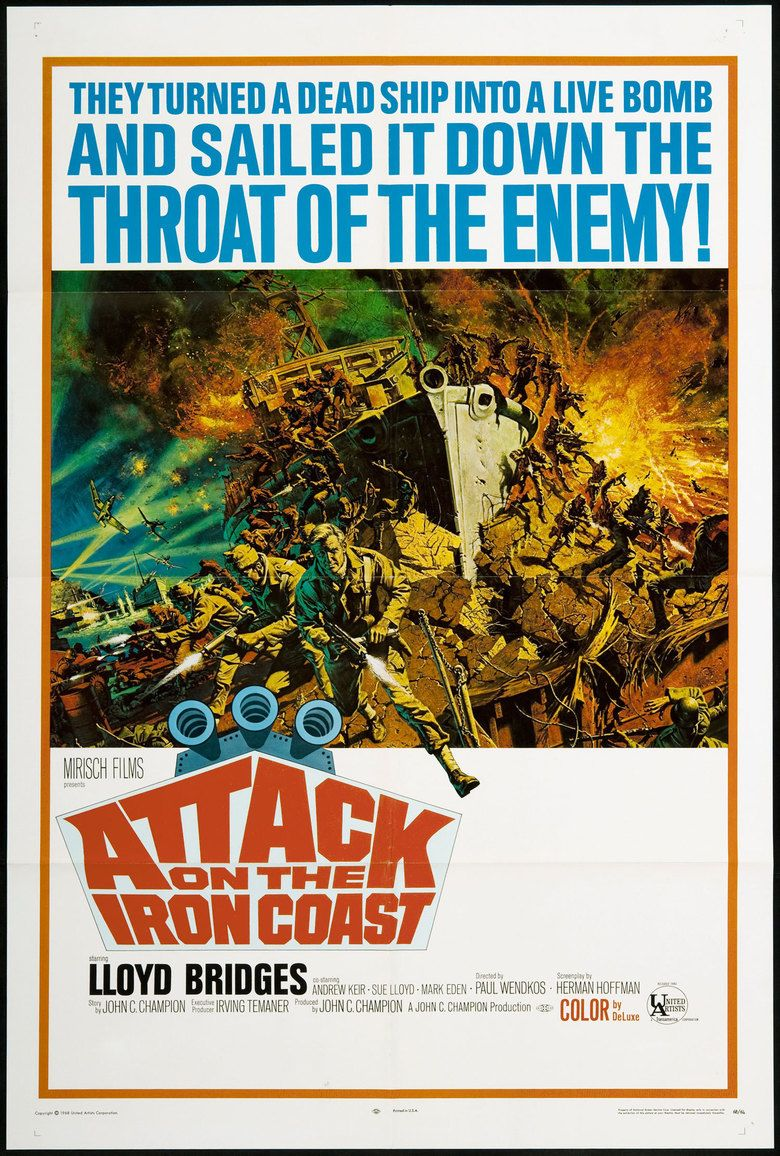 Attack on the Iron Coast movie poster
