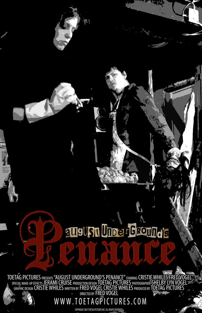 August Undergrounds Penance movie poster