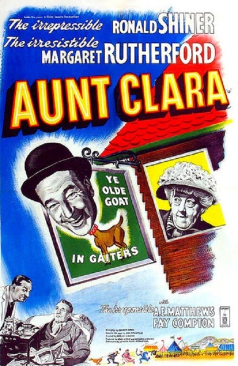 Aunt Clara (film) movie poster