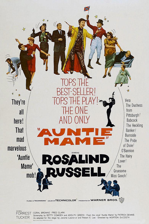 Auntie Mame (film) movie poster