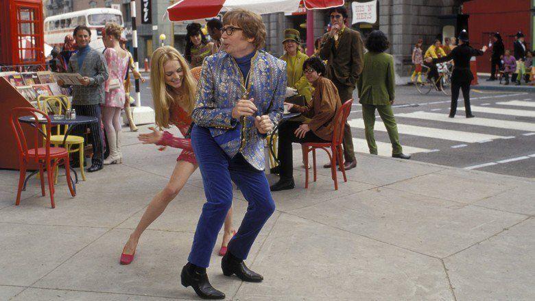 Austin Powers: The Spy Who Shagged Me movie scenes