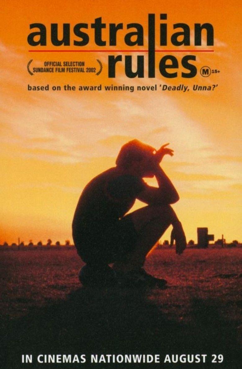 Australian Rules (film) movie poster