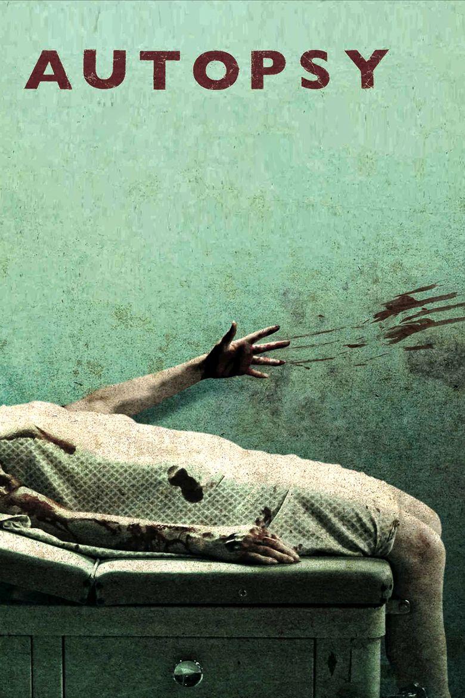 Autopsy (film) movie poster