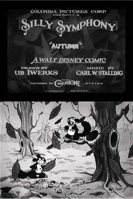 Autumn (1930 film) movie poster