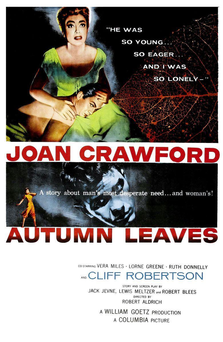 Autumn Leaves (film) movie poster