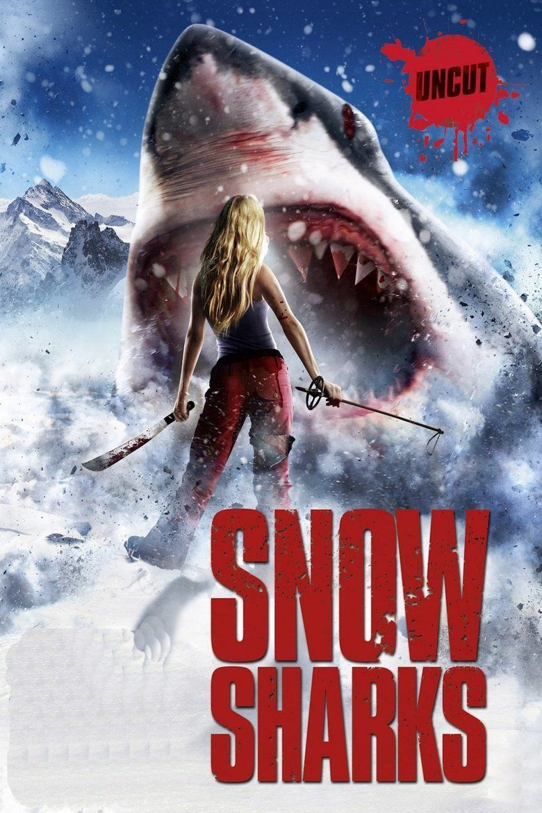 Avalanche Sharks movie poster