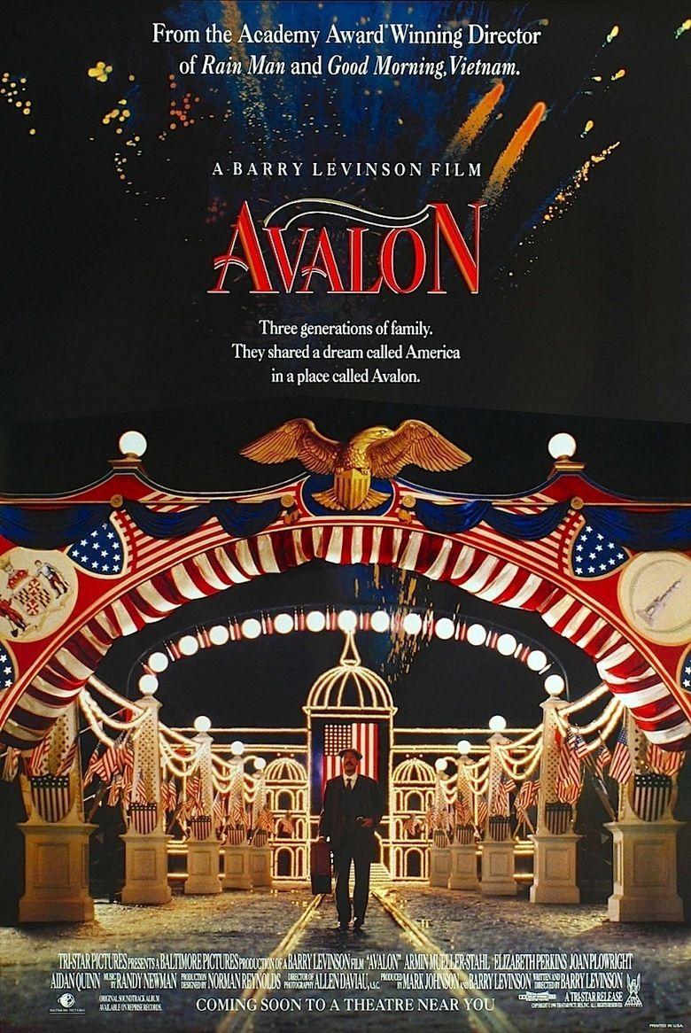 Avalon (1990 film) movie poster