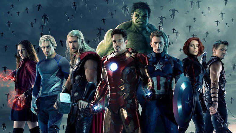 Avengers: Age of Ultron movie scenes