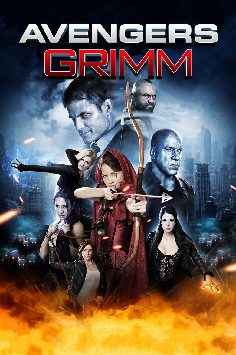 Avengers Grimm movie poster