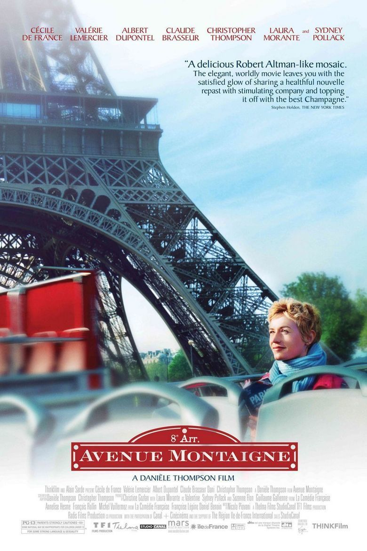 Avenue Montaigne (film) movie poster