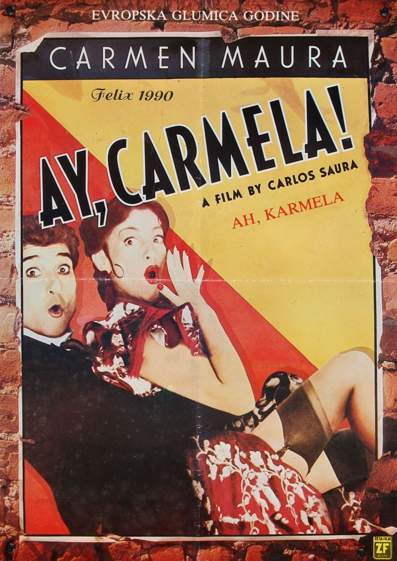 Ay Carmela! movie poster