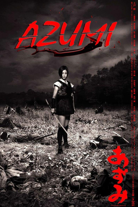 Azumi (film) movie poster