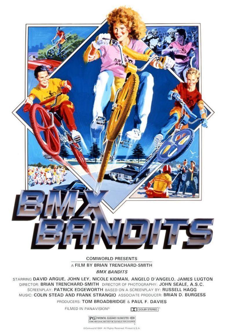 BMX Bandits (film) movie poster