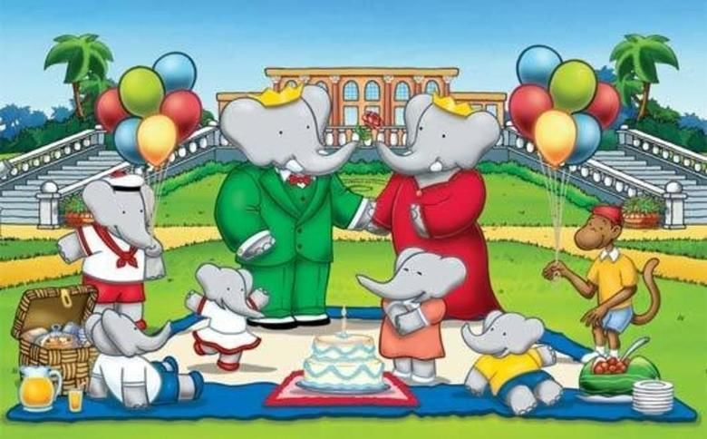 Babar: King of the Elephants movie scenes