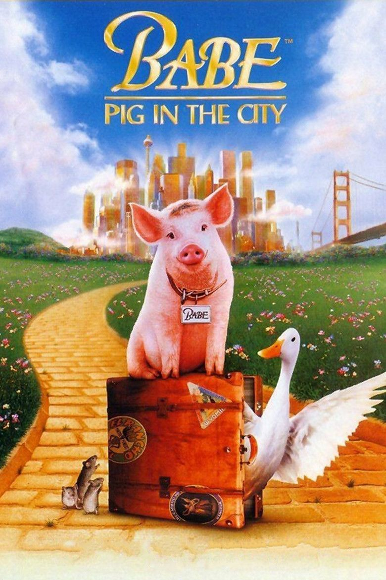 Babe: Pig in the City movie poster