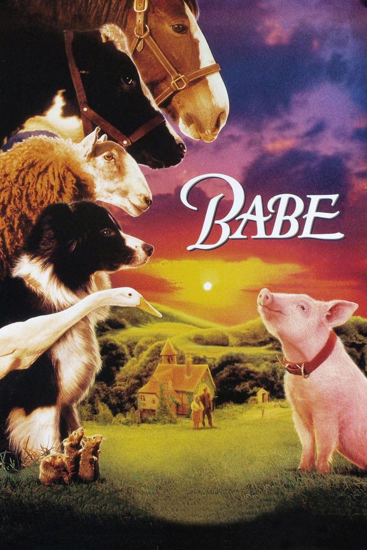 Babe (film) movie poster