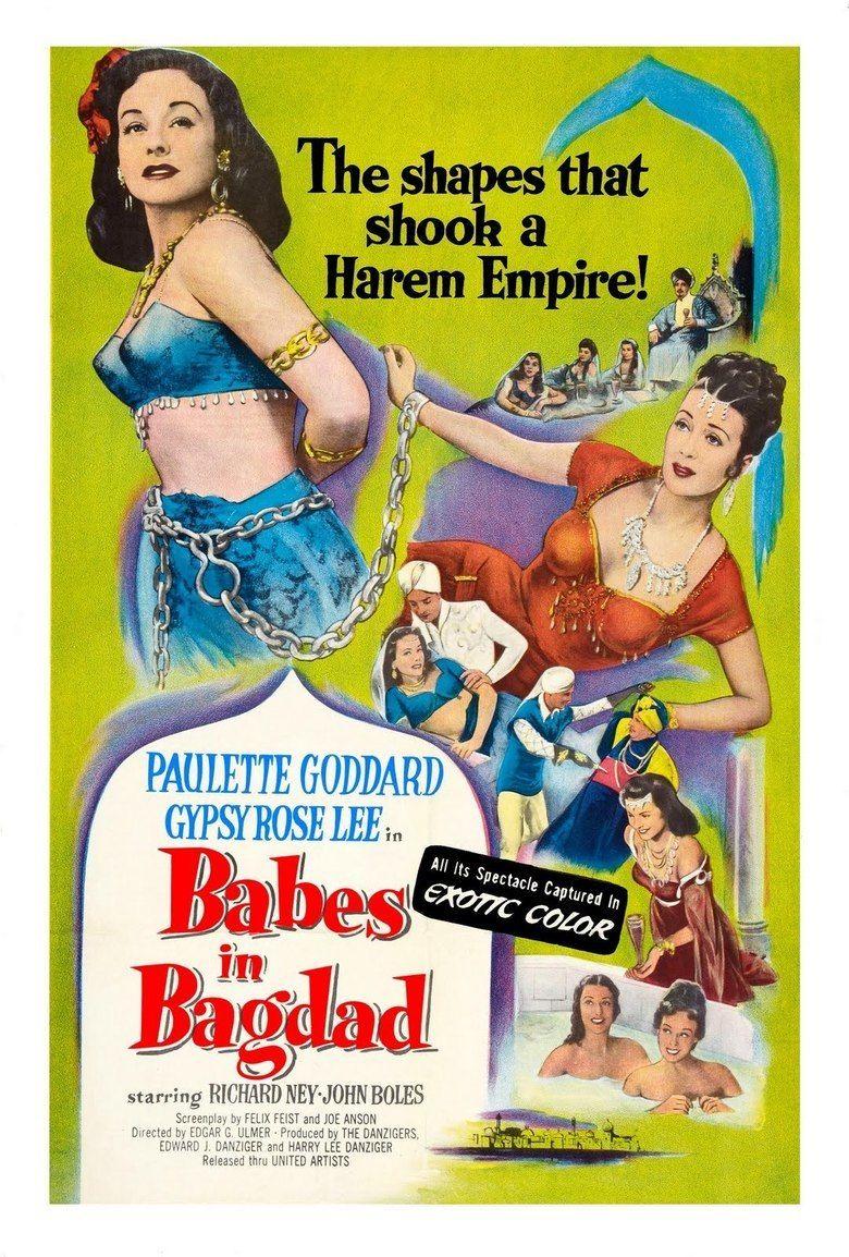 Babes in Bagdad movie poster