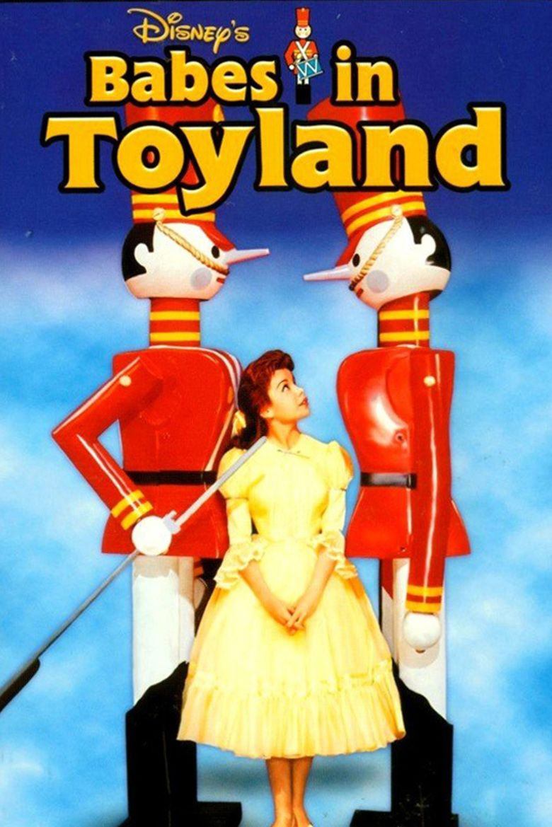 Babes in Toyland (1961 film) movie poster